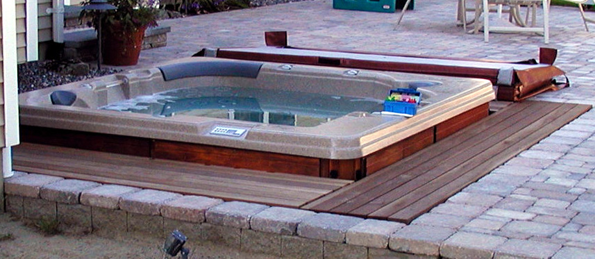 New tub installing in ground portable hot tubs spas - Spa o hot tub ...
